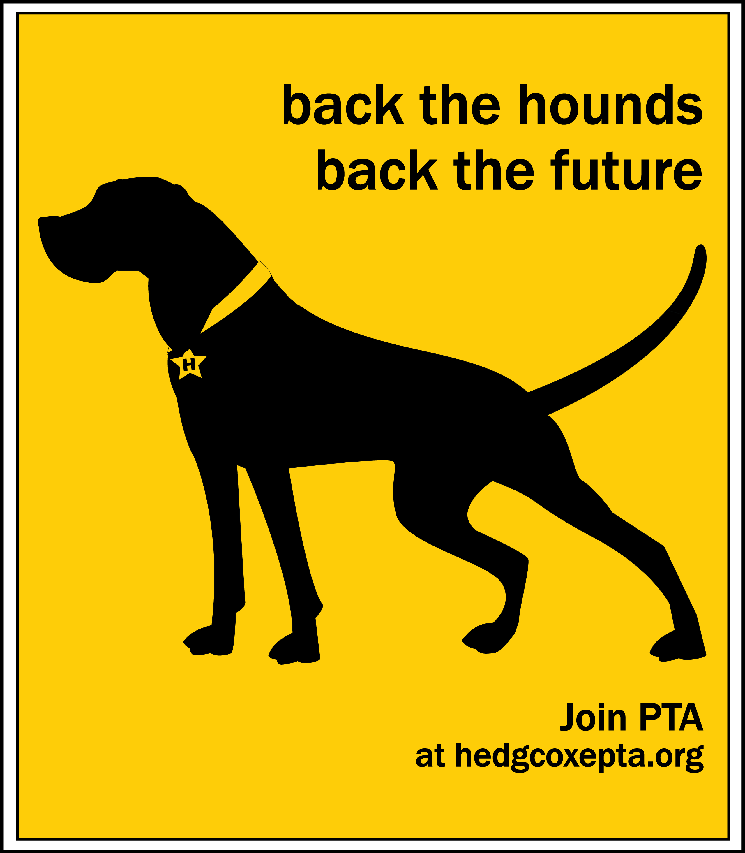 back the hounds poster